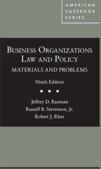 Business-Organizations-Law-and-Policy-9781634605946