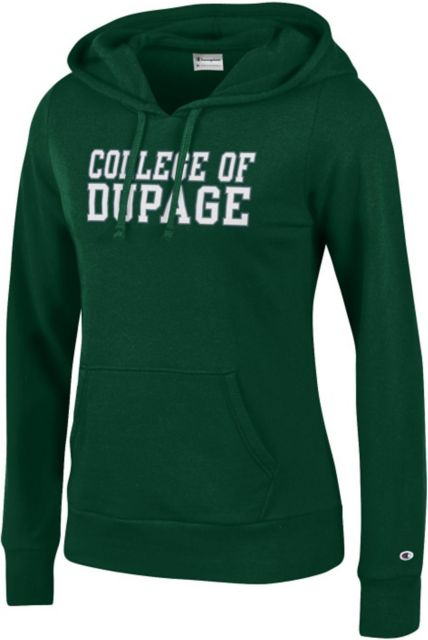 College-of-DuPage-Womens-Hooded-Sweatshirt-327