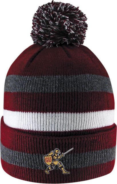Gannon-University-Golden-Knights-Cuff-Pom-Knit-Hat-1021