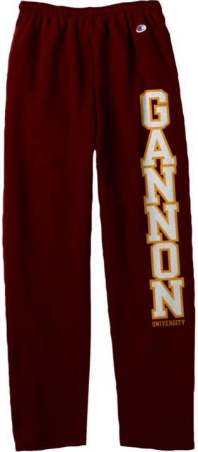 Gannon-University-Open-Bottom-Sweatpants-1023