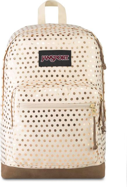 Jansport-Right-Pack-Expression-Backpack-Gold-Polka-Dot-457