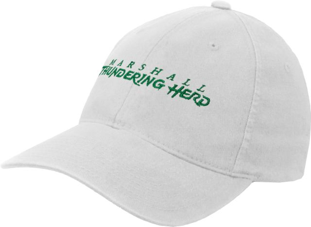 Marshall-OttoFlex-Unstructured-Low-Profile-Hat-Marshall-Thundering-Herd-302