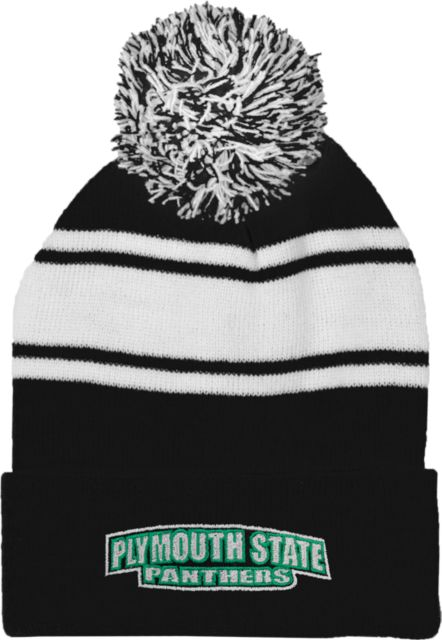 Plymouth-State-Two-Tone-Knit-Pom-Beanie-w-Cuff-Plymouth-State-Panthers-1025