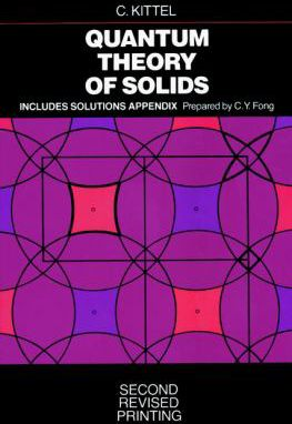 Quantum-Theory-of-Solids-9780471624127
