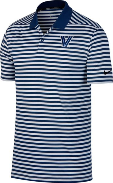 Villanova-University-Striped-Polo-938